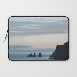 Sunset landscape in Vík í Mýrdal - landscape photography Laptop Sleeve