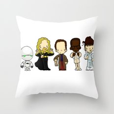 Hitchhikers guide Throw Pillow