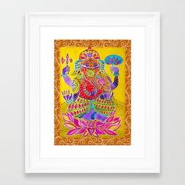Shri Ganesh  Framed Art Print