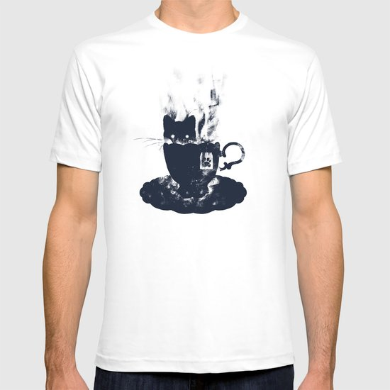 Having Tea With my Lovely Cat T-shirt