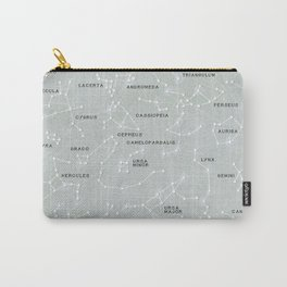 Northern Hemisphere Constellations Map Carry-All Pouch