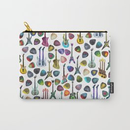 Rainbow Picks and Guitars Carry-All Pouch