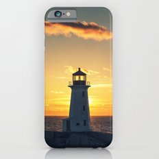 Lone Cloud Lighthouse iPhone 6s Slim Case