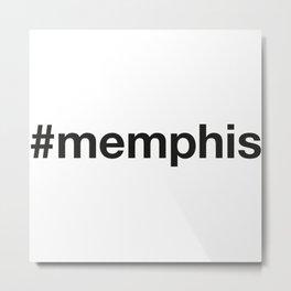 MEMPHIS Metal Print