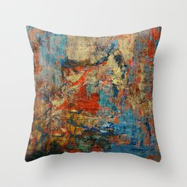 Mannaz - Runes Series Throw Pillow