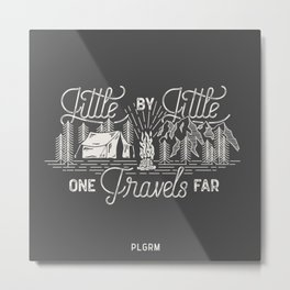 Little By Little Metal Print