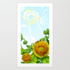 Eco-Logic Art Print