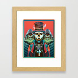 Baron Samedi Framed Art Print