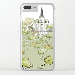 Parque El Calvario -Capilla- Clear iPhone Case