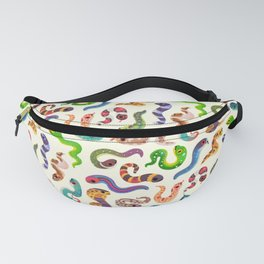 Serpent Day - Bright Fanny Pack