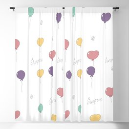Baloons Blackout Curtain