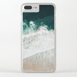Lost waves Clear iPhone Case