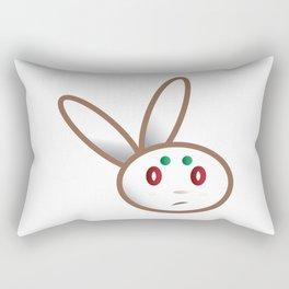 Grumpy Bunny Rectangular Pillow