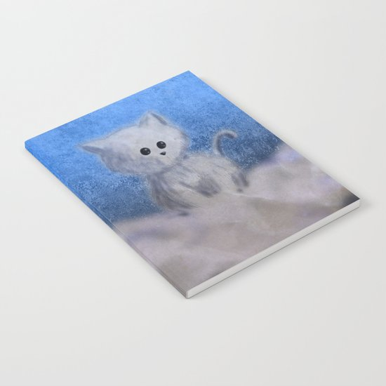 kitten in the sky Notebook