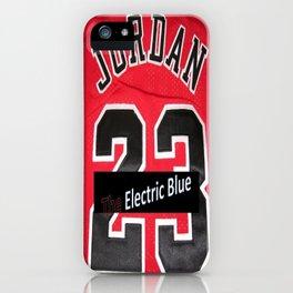 Electric Blue I'm Jordan iPhone Case