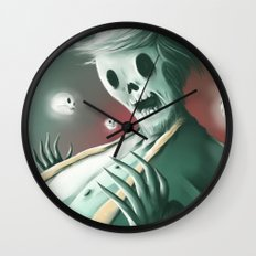 The haunted thoughts Wall Clock