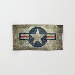 USAF vintage retro roundel #2 Hand & Bath Towel