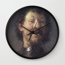 Rembrandt - The Laughing Man Wall Clock