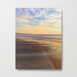 BEACH SUNSET II Metal Print