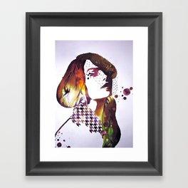 Veiled Framed Art Print