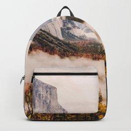 Amazing Yosemite California Forest Waterfall Canyon Backpack