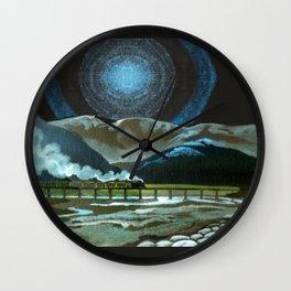 Night Passage - WW480 Steam Wall Clock