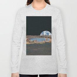 Sumer on the moon Long Sleeve T-shirt