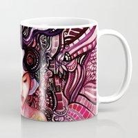alone Mugs featuring Alone by Verismaya