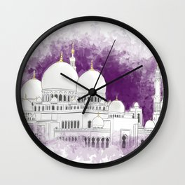 Sheikh Zayed Mosque Wall Clock