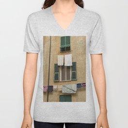 Hanging laundry Unisex V-Neck