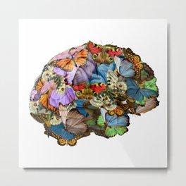 butterflies in my brain Metal Print
