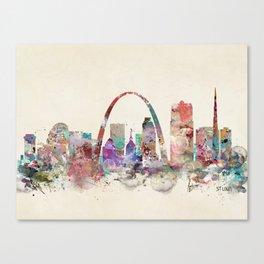 St.louis missouri skyline Canvas Print