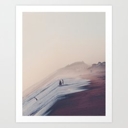 See The World From A Different Angle Art Print