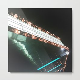 Theatre Marquee Metal Print