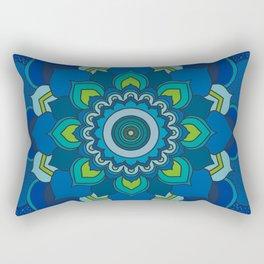 Sea Mandala Rectangular Pillow