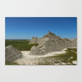 The Beauty Of A Rough Country Canvas Print