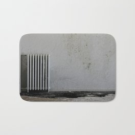LOST PLACES - pissing radiator Bath Mat
