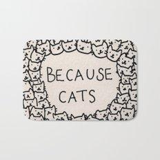 Because cats Bath Mat
