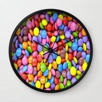 saga Wall Clocks featuring Candy Crush Saga by ArtSchool