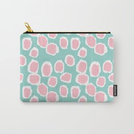 Hayden - abstract trendy gender neutral colorful bright happy dorm college decor pattern print art Carry-All Pouch