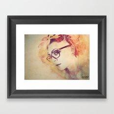A Deeper Emotion Framed Art Print