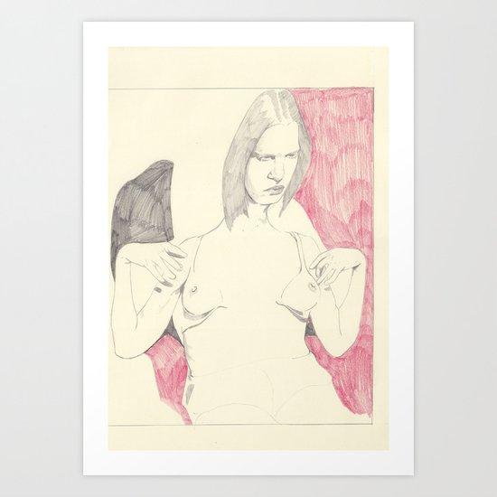 six Art Print