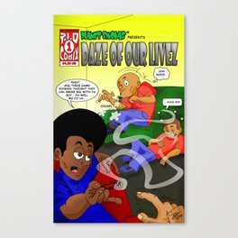 Planet Smokas presents Daze of Our Livez Canvas Print