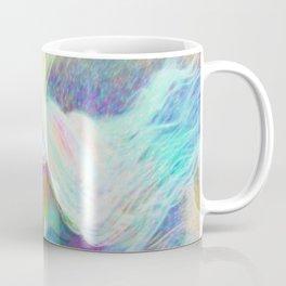 Rainbow Girl | Colourful Lady | Painting | Poster Coffee Mug