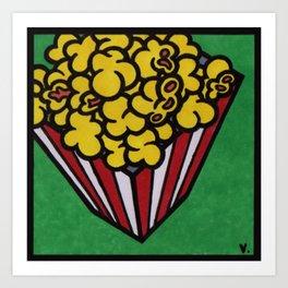 MiniPop13|PopCorn Art Print