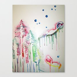 Sea Forrest Canvas Print