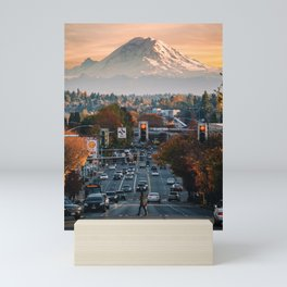 Mt. Rainier Mini Art Print