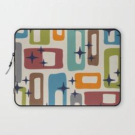 Retro Mid Century Modern Abstract Pattern 224 Laptop Sleeve