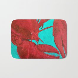 Lobster, Claws for Celebration Bath Mat