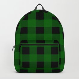 Pine Green Buffalo Check - more colors Backpack